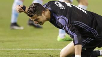 Cristiano Ronaldo ärgert sich über das frühe Out von Real Madrid im spanischen Cup