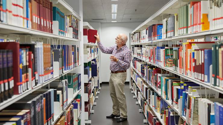 Die grössten Bibliotheken der Schweiz gehören Universitäten und Hochschulen. Im Bild die ZHB in Luzern.