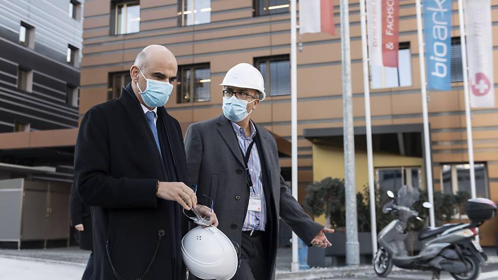 Berset besorgt: «Schweiz braucht strengere Massnahmen»