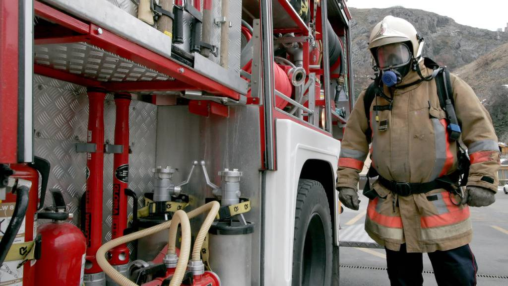 75 Hotelgäste bei Brand in Sitten evakuiert