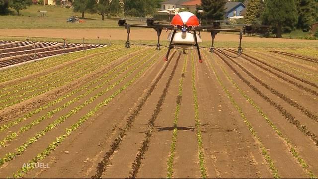 Aargau Pionier der digitalisierten Landwirtschaft
