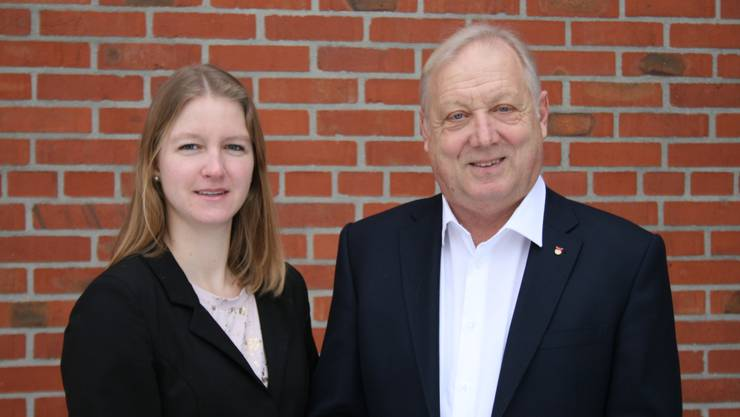 Peter Brotschi und Andrea Heiri als NR Kandidaten nominiert.