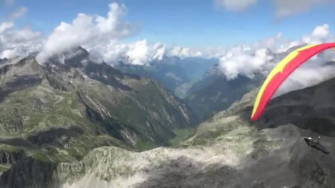 Paragliding Disentis