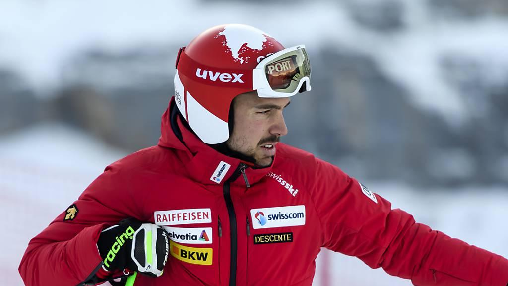 Carlo Janka Vierter im ersten Training