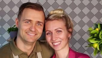 Florian Woitaske und Christine Günther.