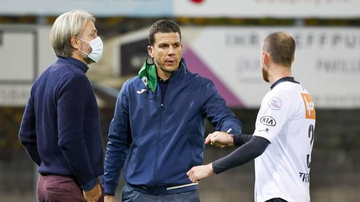 Kriens-Trainer Bruno Berner entführt mit seiner Mannschaft einen Punkt aus dem Brügglifeld.
