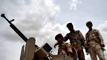 Jemenitische Soldaten (Archiv)