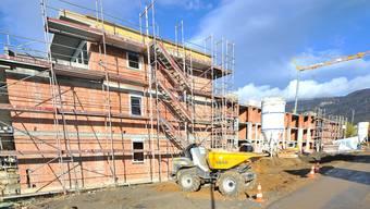 Der Wohnungsbau boomt mit den Tiefstzinsen.
