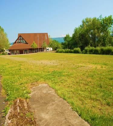 Seit 1989 steht der Bärenplatz leer im Dorfzentrum von Buchs