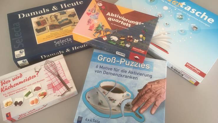 Hier sehen Sie einige Spiele die von der Ludothek Solothurn angeboten werden.