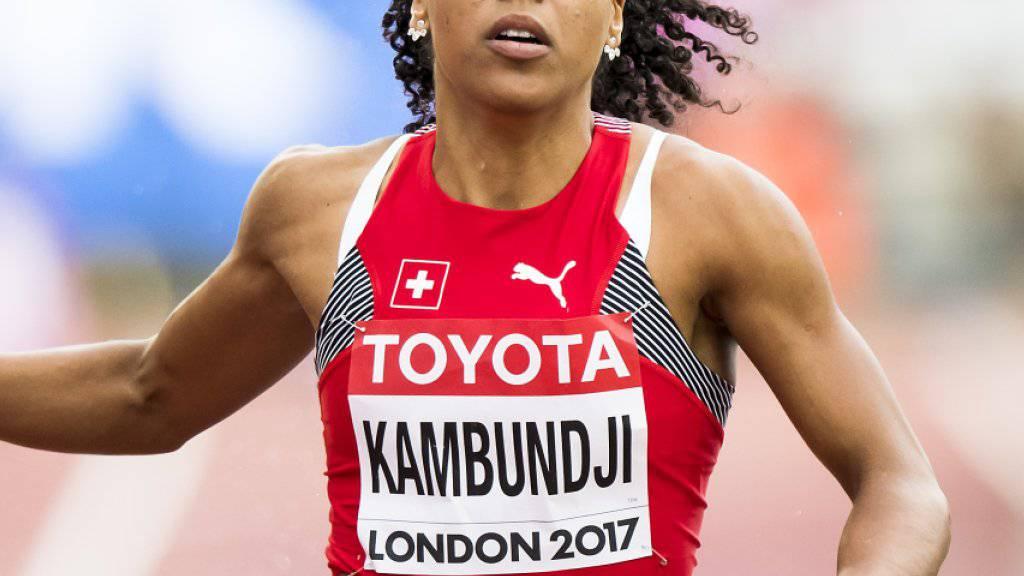 Mujinga Kambundji erreichte an den Weltmeisterschaften in London problemlos den Halbfinal über 200 m