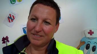 Gisela Schmitter, Samariterlehrerin (SV Rüttenen und Solothurn)