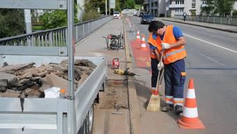 Kettenbrücke in Aarau wird durch Neubau ersetzt