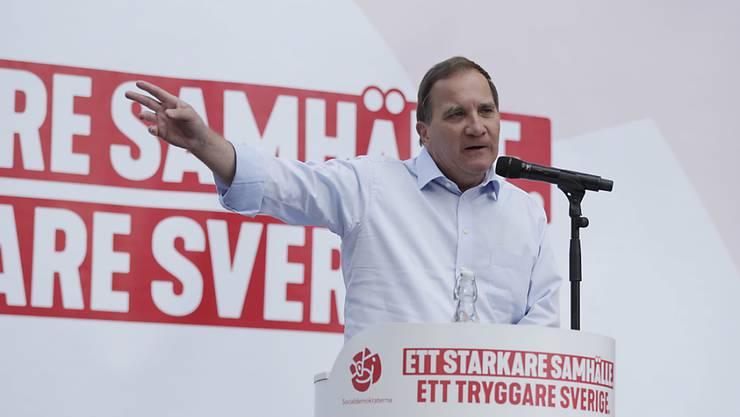 Stefan Löfven von den Sozialdemokraten ist erneut zum Ministerpräsident von Schweden gewählt worden (Archivbild).