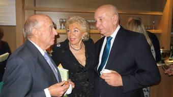 Alt Bundesrat Merz feierte die Biografie von Ljuba Manz
