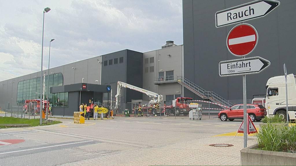 Chemieunfall in Widnau: Zwei Personen mit Atembeschwerden