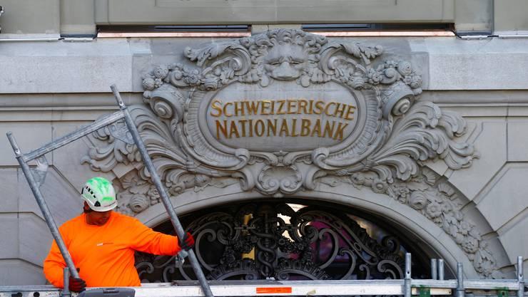 In der Geldpolitik ist die Nationalbank teils fremdbestimmt. (Archiv)
