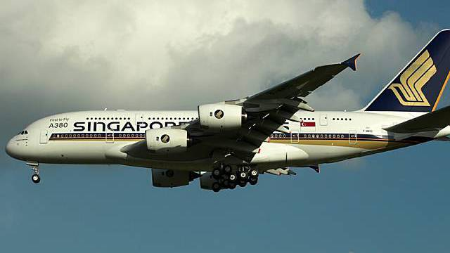 Singapore Airlines Airbus A380 (Archiv)