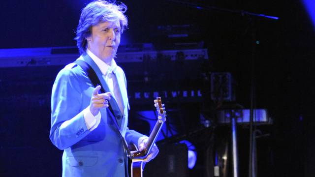Sir Paul McCartney betätigte sich in Albany als Kuppler