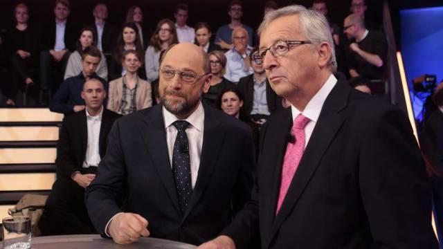 Schulz (l.) und Jucker: mehr unisono statt auf Konfrontation