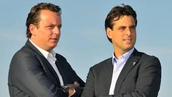 Michael und Thomas Mack, die kommenden Chefs des Europa-Parks.