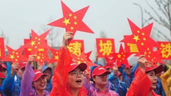 Schon im Vorfeld des 1. Oktober feiern die Chinesen den runden Geburtstag ihres Landes.