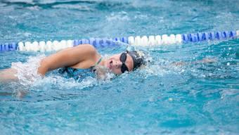 Nora Meister ist im Alter von 16 Jahren bereits Weltrekordhalterin über 200 m Rücken.
