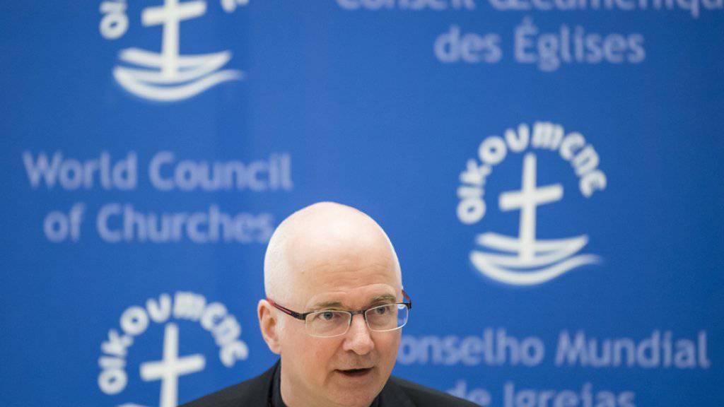 «Ich habe gute Gründe, daran zu glauben, dass wir am Ende nicht mit Schulden da stehen werden». Das sagt Charles Morerod, Bischof des Bistums Lausanne, Genf und Freiburg. (Archiv)