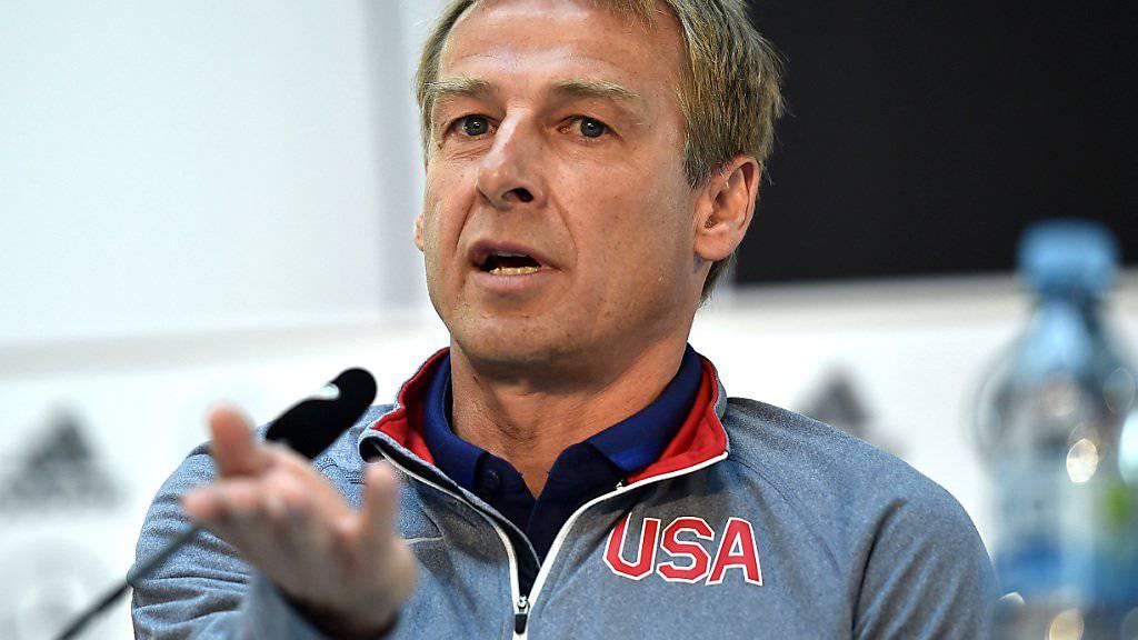 Jürgen Klinsmann musste eine bittere Heimniederlage hinnehmen