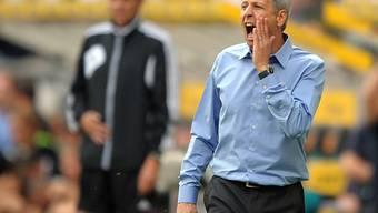 Da nützte alles Schreien nichts: Lucien Favre schied in Kiew aus.