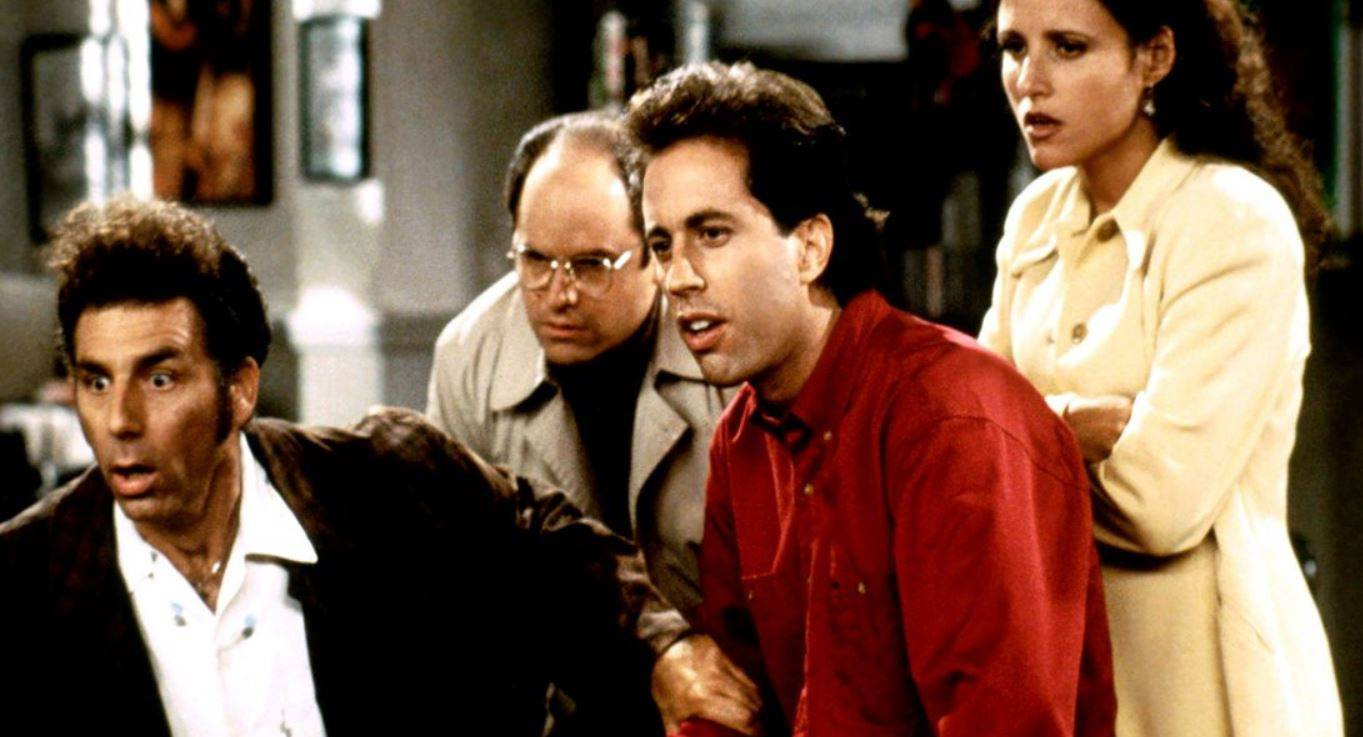 In Seinfeld geht es um den Alltag von vier Freunden in New York.