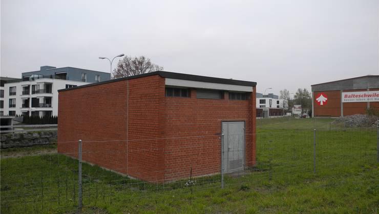 Die Grundwasserfassung Schäffigen in Laufenburg steht im Baugebiet und entspricht nicht mehr den Vorschriften. mf
