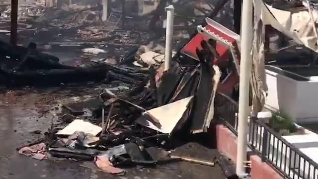 27.5.2018: Wie es im Europapark nach dem Brand aussieht