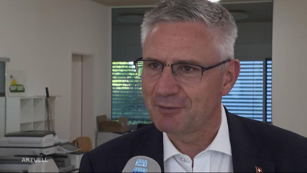 Andreas Glarner zieht Kandidatur für nationales SVP-Präsidium zurück