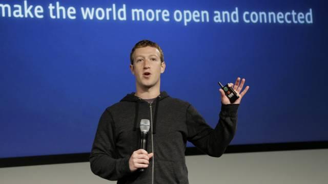 Facebook-Chef Mark Zuckerberg kritisiert den Geheimdienst NSA