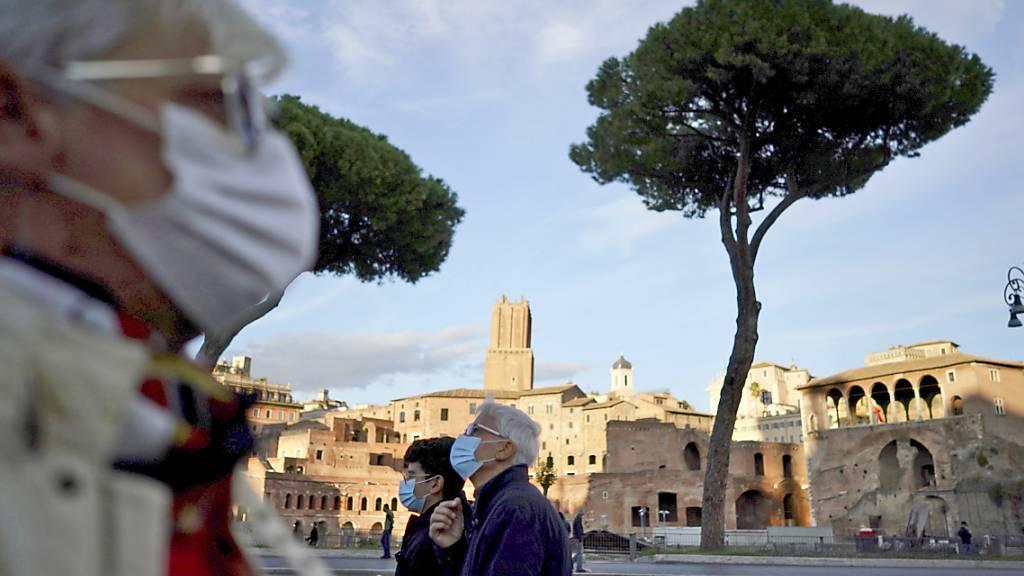 Mehr als 7000 Corona-Neuinfektionen in Italien