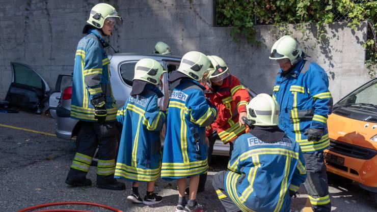 Die Feuerwehr ist bei den Kleinen hoch im Kurs. (Archivbild)