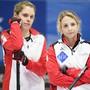 Silvana Tirinzoni (rechts) und Manuela Siegrist: Im Schweizer Frauenteam ist guter Rat teuer
