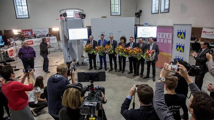 Der Solothurner Nationalrat nach den Wahlen vom 18. Oktober (Archiv)