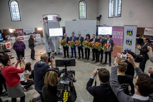 Der neue Solothurner Nationalrat im Zentrum der Aufmerksamkeit