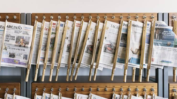 Schweizer und internationale Tageszeitungen: Alltagsgegenstand und Sammlerstück. Symbolbild.