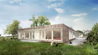 In Niederlenz hat der Souverän über den Neubau eines Dreifach-Kindergartens entschieden.