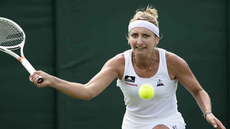 Timea Bacsinszky ist Lokalmatadorin und Aushängeschild des WTA-Turniers von Lausanne