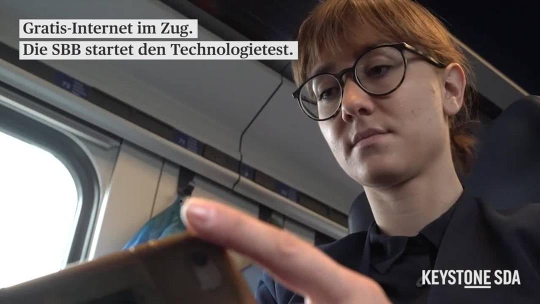 SBB startet Testphase für Gratis-Internet in Zügen