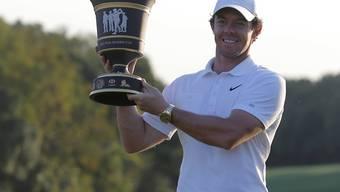 Rory McIlroy liess sich im Fernen Osten als Sieger feiern