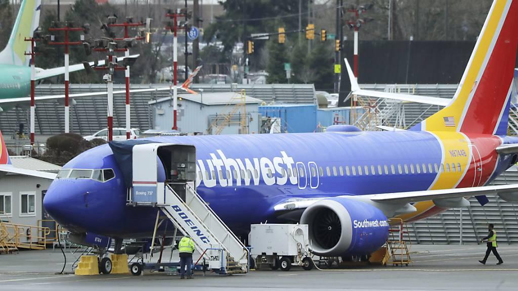 Boeing-Flugverbot belastet Billigflieger Southwest Airlines