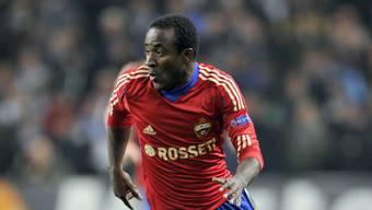 Der ehemalige YB-Stürmer Seydou Doumbia spielt nach seinen Engagements bei ZSKA Moskau und der AS Roma im nächsten Halbjahr in der englischen Premier League