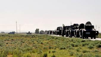 Die irakische Armee bringt sich zum Kampf gegen ISIS in Stellung