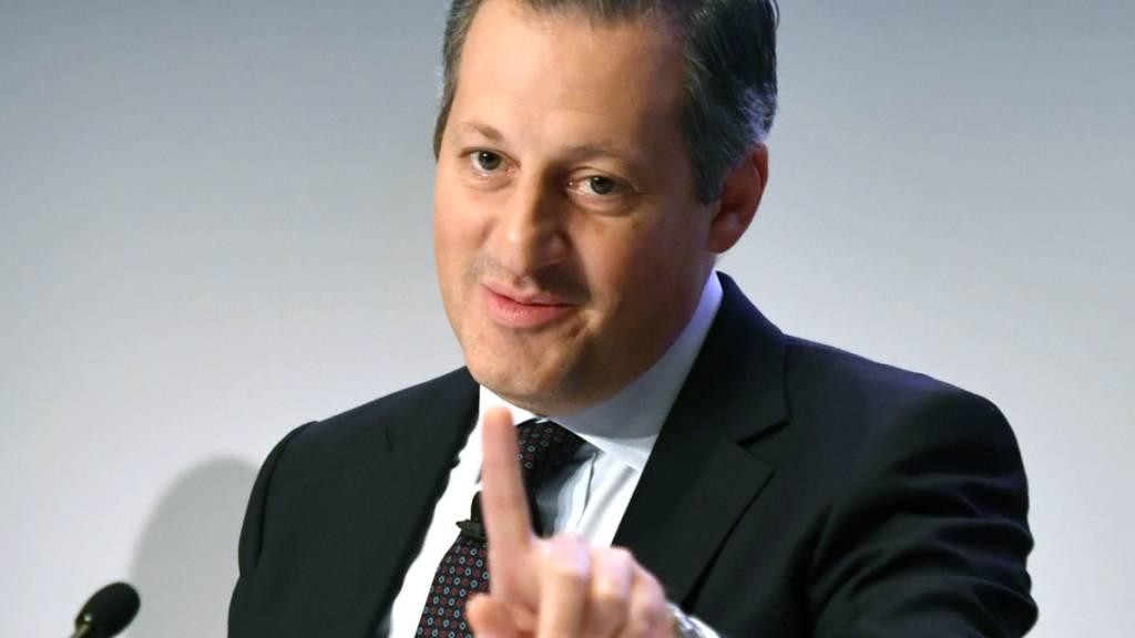 Der einstige Chef der Bank Julius Bär, Boris Collardi, wird von der Finanzmarktaufsicht Finma wegen Geldwäscherei in Zusammenhang mit mutmasslichen Korruptionsfällen in Venezuela gerügt. (Archivbild)