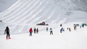 Skigebiet Saas-Fee Allalin.